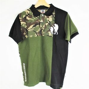 Aape by A Bathing Ape Baby Milo Long Sleeve Button